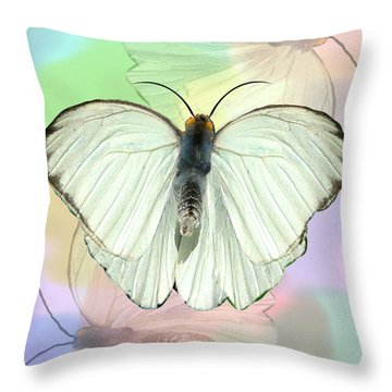 Butterfly, Butterfly Throw Pillow
