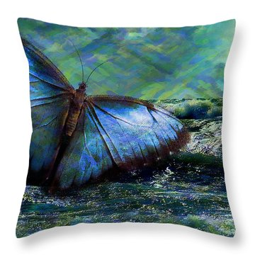 Butterfly Dreams 2015 Throw Pillow