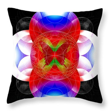 Butterfly Effect Throw Pillow by Iowan Stone-Flowers