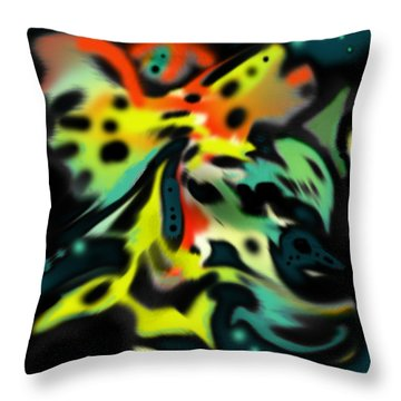 Butterfly Menagerie Throw Pillow