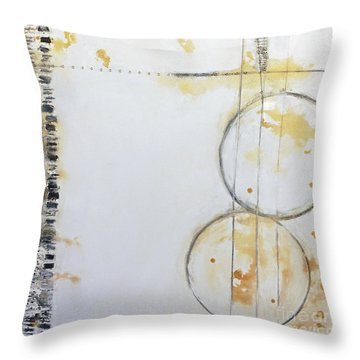 Butterfly Tracks Throw Pillow by Gallery Messina