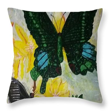 Butterfly Wonders Throw Pillow