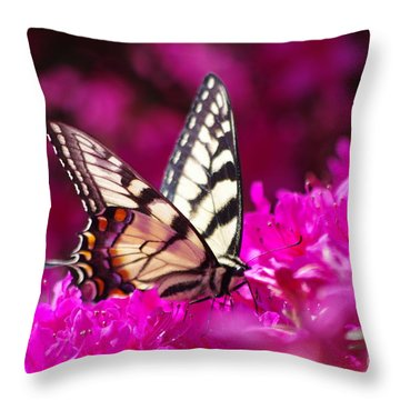 Butterfly1 Throw Pillow