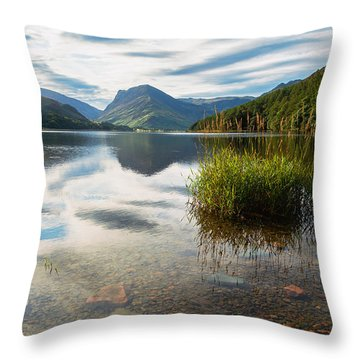 Buttermere Dawn Throw Pillow
