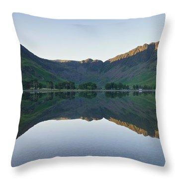 Buttermere Reflections Throw Pillow