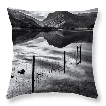 Buttermere Reflections Throw Pillow