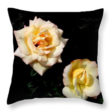 Throw Pillow featuring the photograph Buttermints by David Dunham