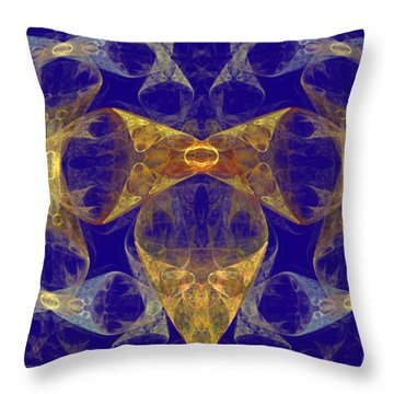 Buttons And Bows Throw Pillow