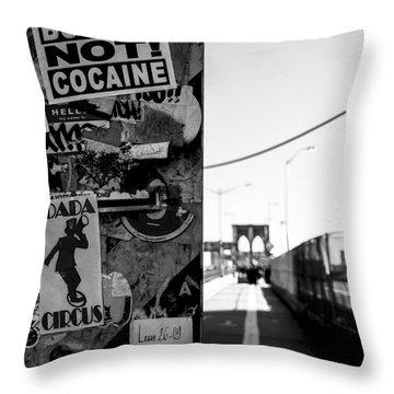 Buy Art Not Cocaine Throw Pillow