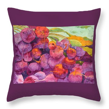 Buy Local Throw Pillow by Nancy Jolley