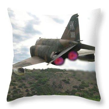 Buzz The Tower Throw Pillow