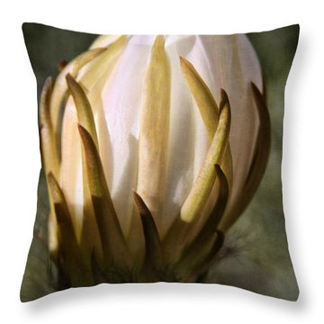 Throw Pillow featuring the photograph Buzzz by Tammy Espino