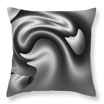 Bw Art 9 Throw Pillow