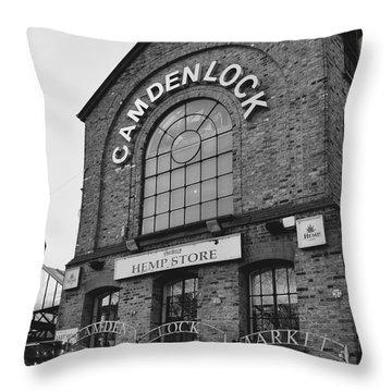 Bw Series Camden Lock Market Throw Pillow