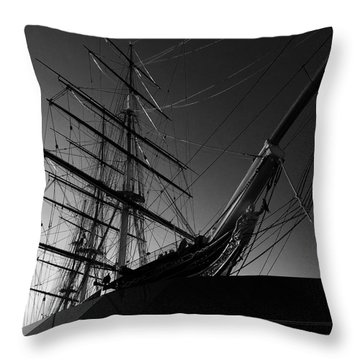 Bw Series Cutty Sark Five Throw Pillow