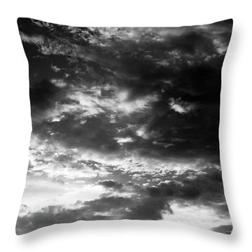 Bw Sky Throw Pillow