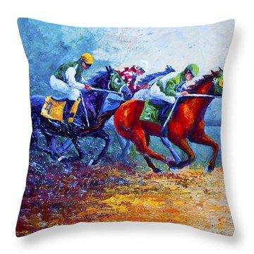 Derby Throw Pillows