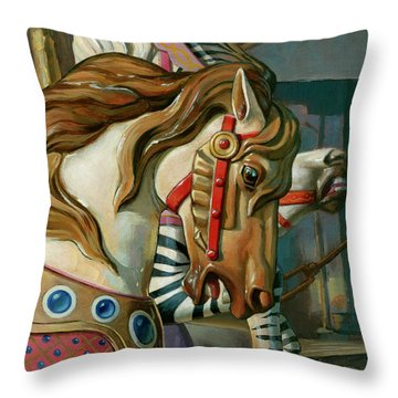 By A Nose Throw Pillow