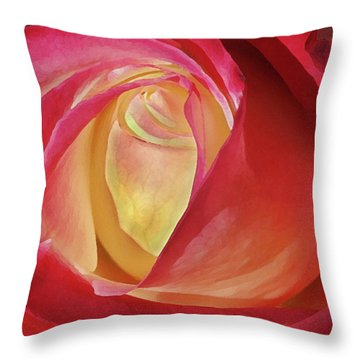 By Any Other Name Throw Pillow by Marie Leslie