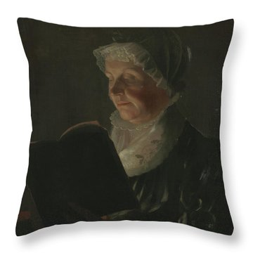 By Candlelight Throw Pillow