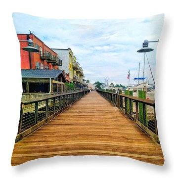 By George Throw Pillow