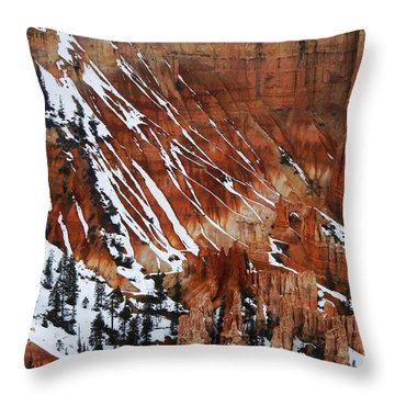 By God's Hand Throw Pillow by Scott Cameron