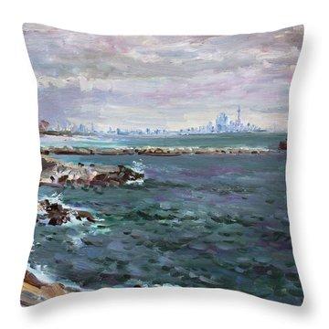 Lakeshore Throw Pillows