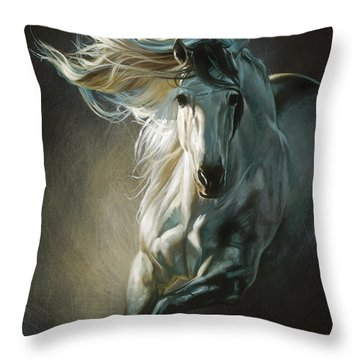 By Moonlight Throw Pillow