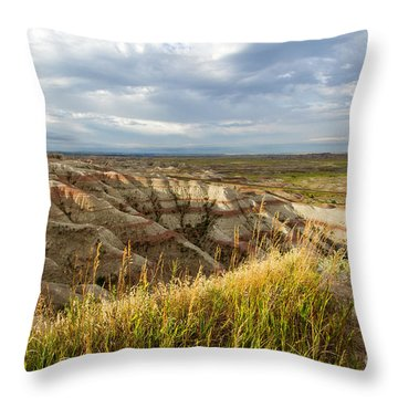 By Morning Light Throw Pillow
