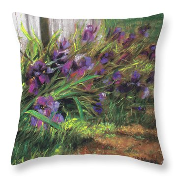 By The Barn Throw Pillow