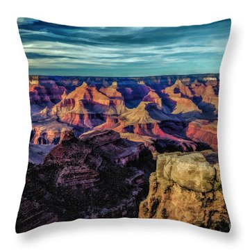 By The Dawns Early Light Throw Pillow