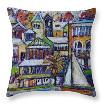 By The Water - Freo Throw Pillow