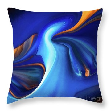 By The Way Throw Pillow