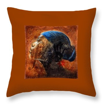 By Your Faith Throw Pillow by Christopher Marion Thomas