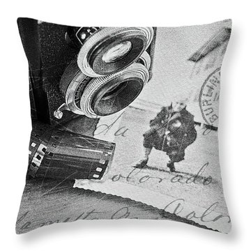 Bygone Memories Throw Pillow