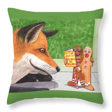 Bygones Throw Pillow