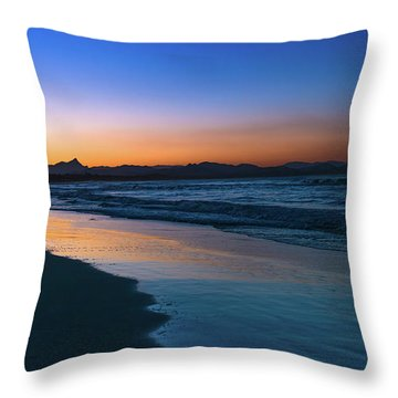 Byron Bay After The Sun Sets Throw Pillow