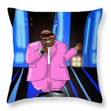 C-lo Pink Throw Pillow