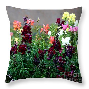 Throw Pillow featuring the painting C231716 by Mas Art Studio