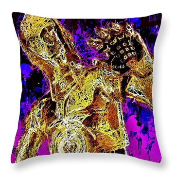 C-3po Throw Pillow