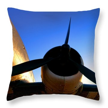 C47 Sunset Throw Pillow