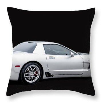 C6 Corvette Throw Pillow