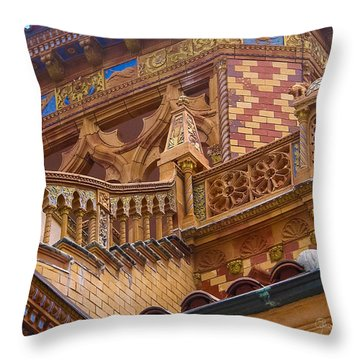 Ca' D'zan Detail Throw Pillow