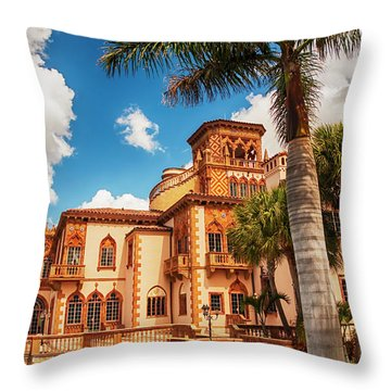 Ca' D'zan Throw Pillow