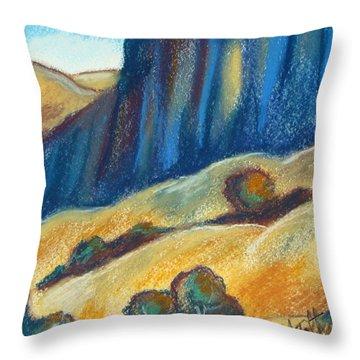 Ca Hills Throw Pillow