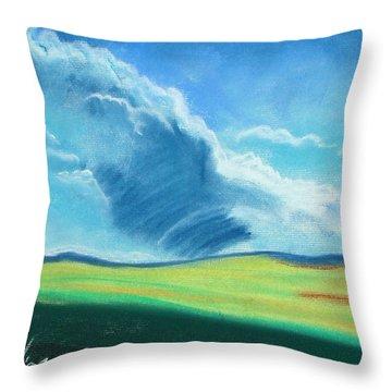 Ca Plains Throw Pillow