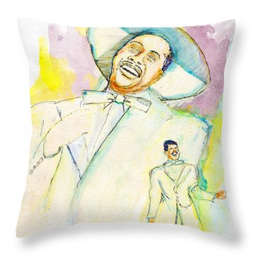 Cab Calloway Throw Pillow