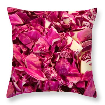 Cabbage 639 Throw Pillow