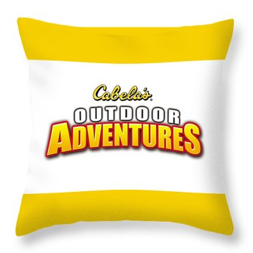 Cabela's Outdoor Adventures Throw Pillow