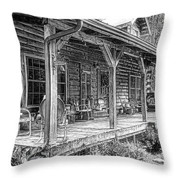 Log Throw Pillows